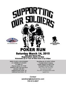 Support Soldiers
